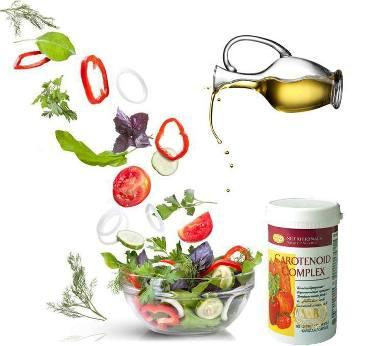 Pomagajte si s koktejlom za zdravje - dvignite imunski sistem - carotenoid complex